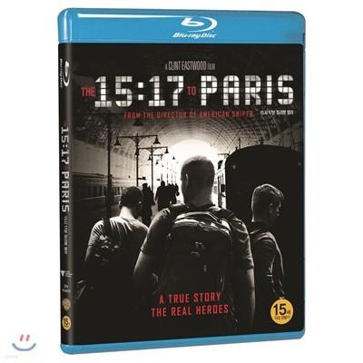 15시 17분 파리행 열차 (1Disc) : 블루레이