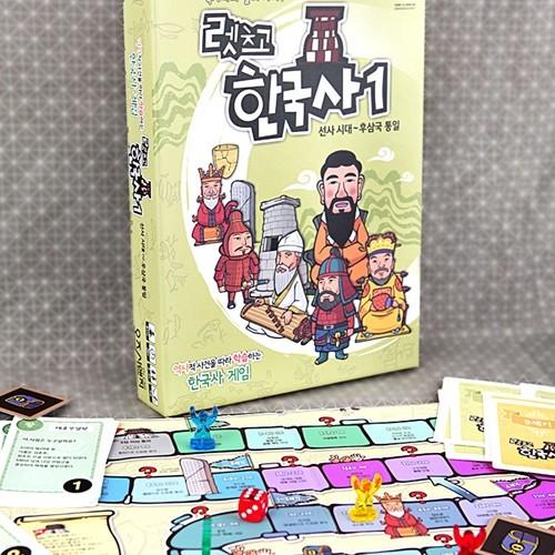 오즈씨앤지 렛츠고 한국사1 보드게임 (선사시대-후삼국통일)
