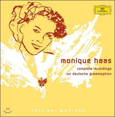 모니크 하스 DG 녹음 전집 (Monique Haas - Complete Recordings on Deutsche Grammophon)