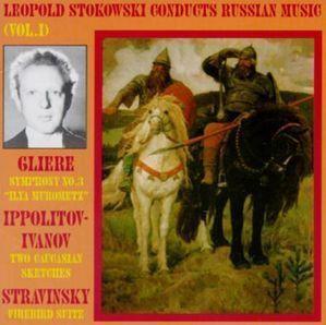 [미개봉] Leopold Stokowski / Leopold Stokowski Conducts Russian Music, Vol. 1 (수입/미개봉/WHL005)