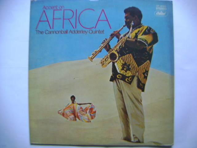 LP(수입) 캐넌볼 애덜리 퀸텟 The Cannonball Adderley Quintet: Accent On Africa