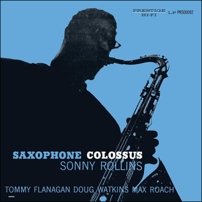 Sonny Rollins (소니 롤린스) - Saxophone Colossus [LP]