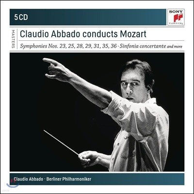 Claudio Abbado 클라우디오 아바도 - 모차르트: 교향곡 9, 23, 28, 29, 31, 35, 36QJS, c단조 미사 (Mozart: Symphonies, Sinfonia Concertante)