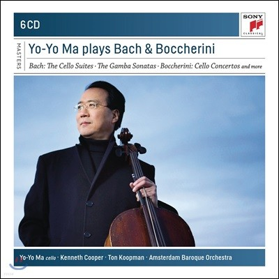 Yo-Yo Ma 요요 마 - 바흐: 첼로 모음곡 / 보케리니: 첼로 협주곡 외 (J.S. Bach: Cello Suites / Boccherini: Cello Concertos)