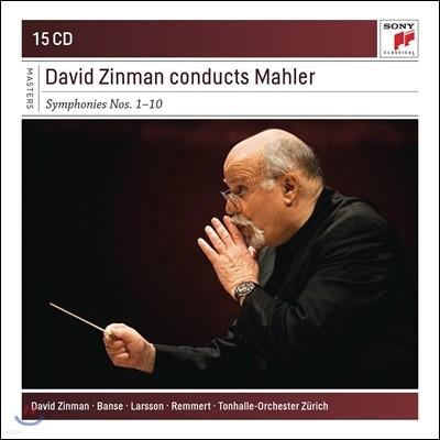 David Zinman 데이비드 진먼이 지휘하는 말러 교향곡 1-10번 전집 (Mahler: The Complete Symphonies)