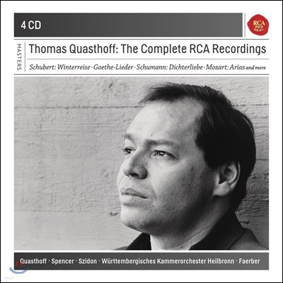 Thomas Quasthoff 토마스 크바스토프 - RCA 레코딩 전집 (The Complete RCA Recordings)