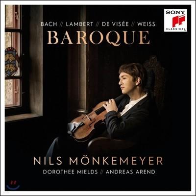 Nils Monkemeyer 바로크 - 바흐 / 랑베르 / 드 비세 / 바이스: 비올라 작품집 (Baroque)