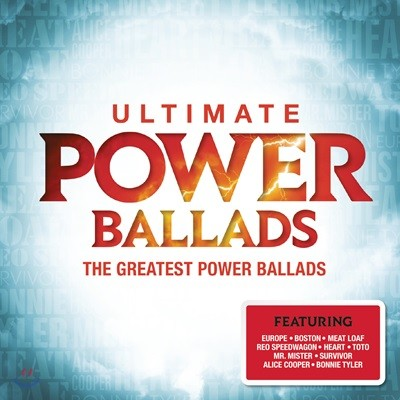 팝 발라드 음악 모음집 (The Ultimate Power Ballads : The Greatest Ballad Music)