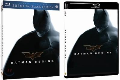 배트맨 비긴즈 : 블루레이 프리미엄 블랙 에디션 시리즈(한정판)