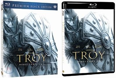 트로이 (감독판) : 블루레이 프리미엄 블랙 에디션 시리즈(한정판)