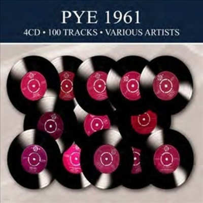 Various Artists - Pye 1961 - 100 Tracks (4CD)