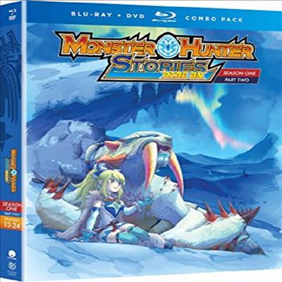 Monster Hunter Stories Ride On: Season One - Pt 2 (몬스터 헌터 스토리즈 라이드 온)(한글무자막)(Blu-ray+DVD)