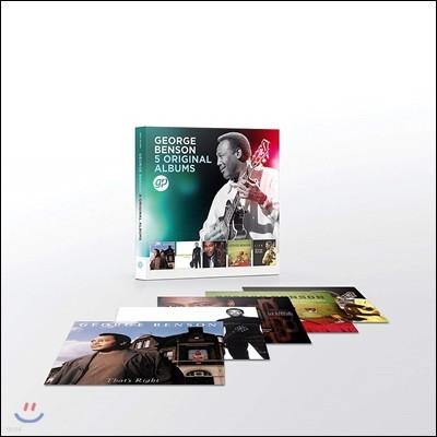 George Benson - 5 Original Albums 조지 벤슨 오리지널 앨범 5CD 박스 세트