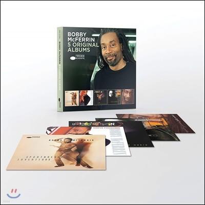 Bobby McFerrin - 5 Original Albums 바비 맥퍼린 오리지널 앨범 5CD 박스 세트