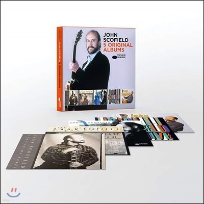 John Scofield - 5 Original Albums 존 스코필드 오리지널 앨범 5CD 박스 세트