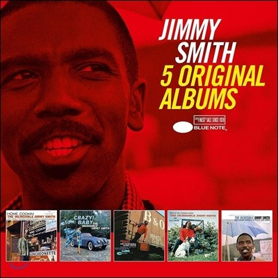 Jimmy Smith (지미 스미스) - 5 Original Albums