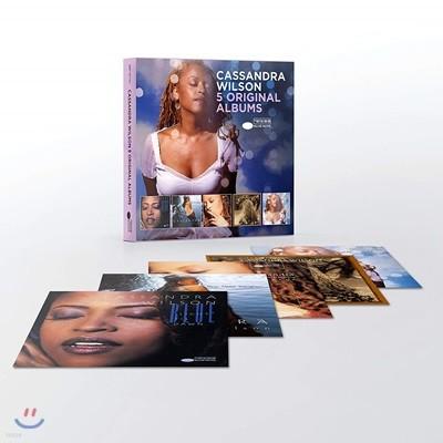 Cassandra Wilson - 5 Original Albums 카산드라 윌슨 오리지널 앨범 5CD 박스 세트