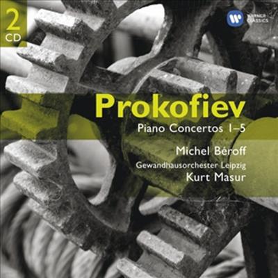 프로코피에프 : 피아노 협주곡 전집 (Sergei Prokofiev : Piano Concertos 1-5) (2CD) - Michel Beroff
