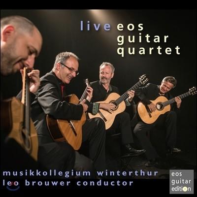 Eos Guitar Quartet 브라우어: 지스몬티아나 / 타우너: 융합 (Live - Brouwer: Gismontiana / Towner: Confluence)