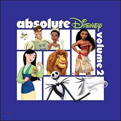 디즈니 애니메이션 베스트 주제곡 모음집 (Absolute Disney: Volume 2)