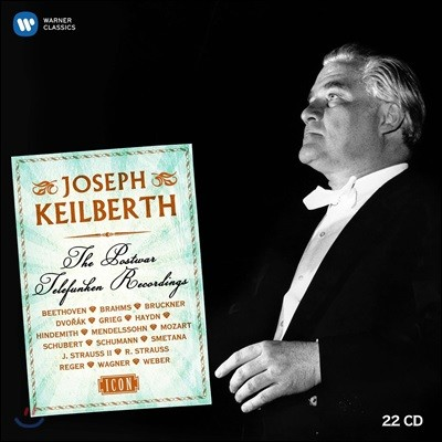 Joseph Keilberth 요제프 카일베르트 텔레풍켄 1953-1963 녹음집 (ICON - The Postwar Telefunken Recordings)