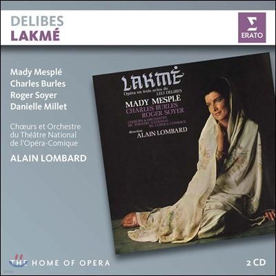 Alain Lombard 들리브: 오페라 '라크메' (Delibes: Lakme)