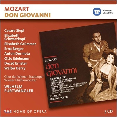 Cesare Siepi / Wilhelm Furtwangler 모차르트: 오페라 '돈 조반니' (Mozart: Don Giovanni [Live at Salzburg, 1954])