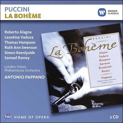 Roberto Alagna / Antonio Pappano 푸치니: 라보엠 (Puccini: La Boheme)