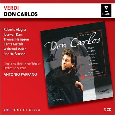 Roberto Alagna / Antonio Pappano 베르디: 돈 카를로 (Verdi: Don Carlos)