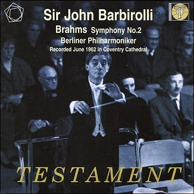John Barbirolli 브람스: 교향곡 2번 (Brahms: Symphony Op.73) 존 바비롤리, 베를린 필하모니
