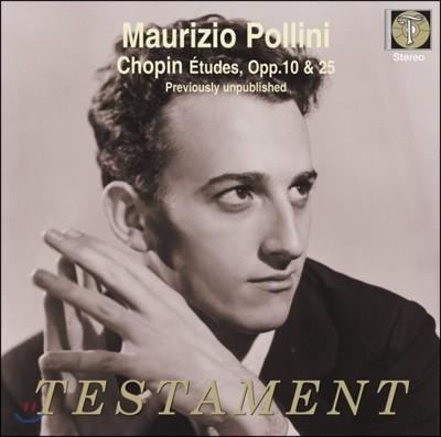 Maurizio Pollini 쇼팽: 연습곡 - 마우리치오 폴리니 (Chopin: Etudes op.10, op.25)