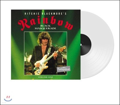 Rainbow - Rockpalast 1995 : Black Masquerade Vol.1 레인보우 독일 뒤셀도르프 라이브 [투명 컬러 LP]