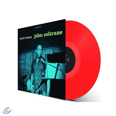 John Coltrane (존 콜트레인) - Blue Train [투명 레드 컬러 LP]
