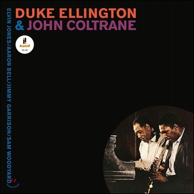 Duke Ellington & John Coltrane (듀크 엘링턴 & 존 콜트레인) - Duke Ellington & John Coltrane [투명 퍼플 컬러 LP]