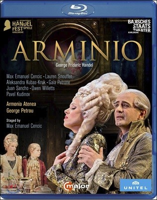 Max Emanuel Cencic / George Petrou 헨델: 오페라 '아르미니오' (Handel: Arminio)