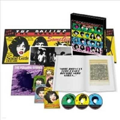 Rolling Stones - Some Girls (Super Deluxe Edition) (2CD+1DVD+1LP)(CD)