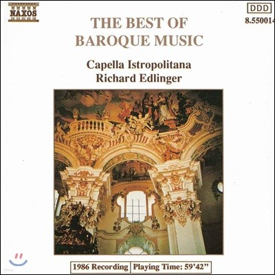 Capella Istropolitana 바로크 음악 명곡집 (The Best Of Baroque Music)