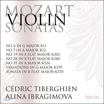 Alina Ibragimova 모차르트: 바이올린 소나타 5집 - 알리나 이브라기모바 (Mozart: Violin Sonata K. 380, 12, 11, 570, 302, 359)