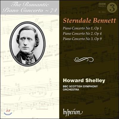 낭만주의 피아노 협주곡 74집 - 윌리엄 스턴데일 베넷트: 피아노 협주곡 1-3번 (The Romantic Piano Concerto Vol.74 - William Sterndale Bennett)