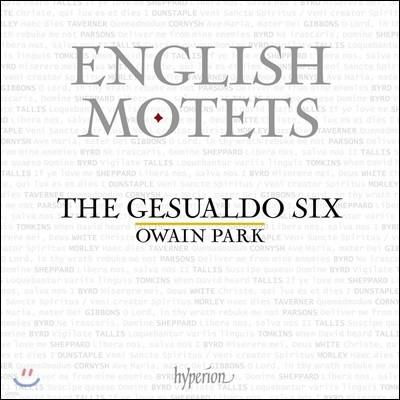Gesualdo Six 잉글리시 모테트 - 탈리스 / 버드 / 톰킨스 / 기본스 외 (English Motets)