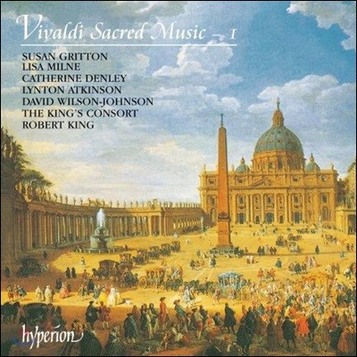 King's Consort 비발디: 종교 음악 1권 (Vivaldi: Sacred Music 1)