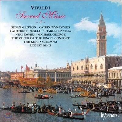 King's Consort 비발디: 종교 음악 3권 (Vivaldi: Sacred Music 3)