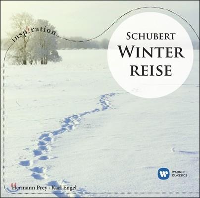 Hermann Prey 인스피레이션 - 슈베르트: 가곡집 '겨울 나그네' (Schubert: Winterreise) 헤르만 프라이, 카를 엥겔