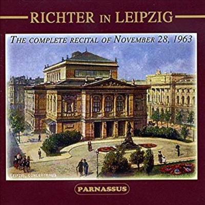 스비아토슬라프 리히터 - 라이프치히 공연 실황, 1963년 (Richter in Leipzig, 1963) - Sviatoslav Richter