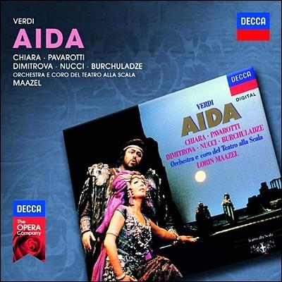 Luciano Pavarotti / Lorin Maazel 베르디: 아이다 (Verdi: Aida)