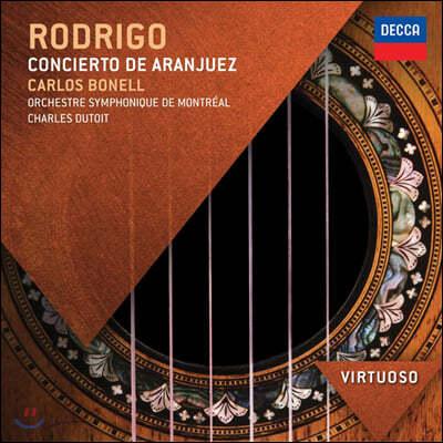 Carlos Bonell 호아킨 로드리고: 아랑훼즈 협주곡, 어느 귀인을 위한 환상곡
