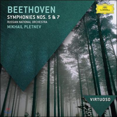 Mikhail Pletnev 베토벤: 교향곡 5, 7번 (Beethoven: Symphony Op. 67, 92)