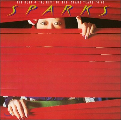 Sparks (스파크스) - The Best Of & The Rest Of: The Island Years 74-78 [레드 컬러 2 LP]