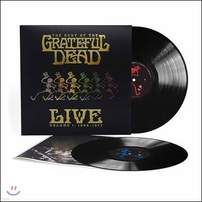 Grateful Dead - The Best of the Grateful Dead Live : 그레이트풀 데드 1969-1977 라이브 실황 베스트 컬렉션 [2 LP]