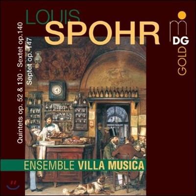 Villa Musica Ensemble 슈포어: 실내악 작품집 (Spohr: Chamber Music)